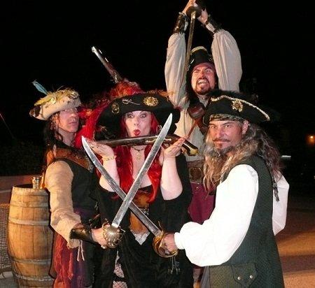Сценарії піратських вечірок для дітей і дорослих