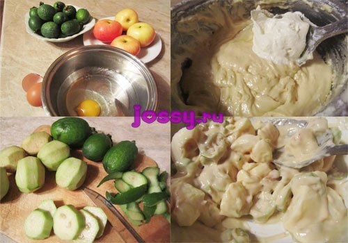 Що приготувати з фейхоа   смачний рецепт випічки
