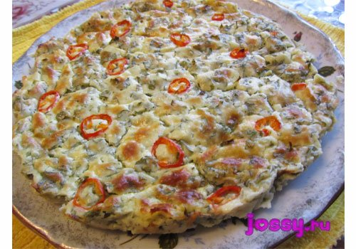 Сирний пиріг   рецепт на основі вівсяної