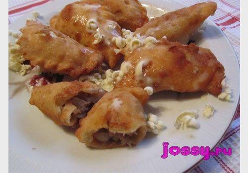 Страва з баранини   смачний рецепт чебуреків–міні
