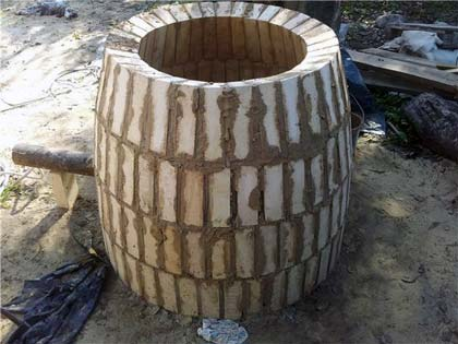 Тандир своїми руками з цегли для дачі: покрокове керівництво (+відео і фото)