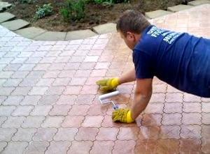Технологія укладання тротуарної плитки своїми руками