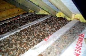 Технології та матеріали для утеплення стелі в дерев\яному будинку