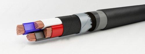 Броньований кабель для прокладки в землі