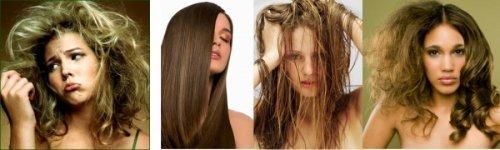 Догляд за типом волосся