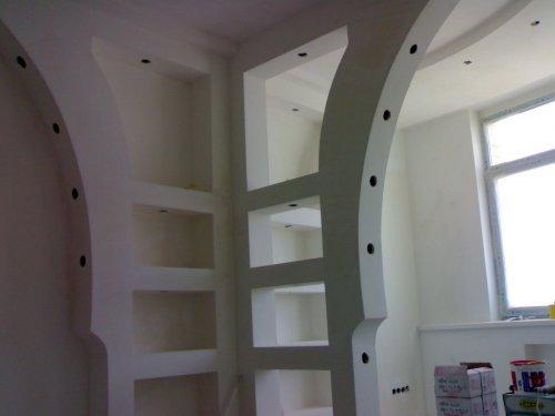 Конструкції з гіпсокартону своїми руками на стінах і стелі