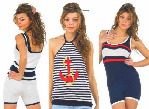Морський стиль в одязі