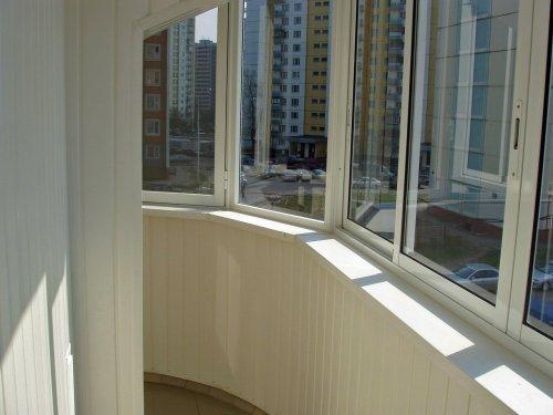Обшивка балкона своїми руками