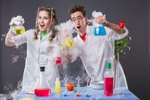 Шоу в науковому стилі на дитяче свято