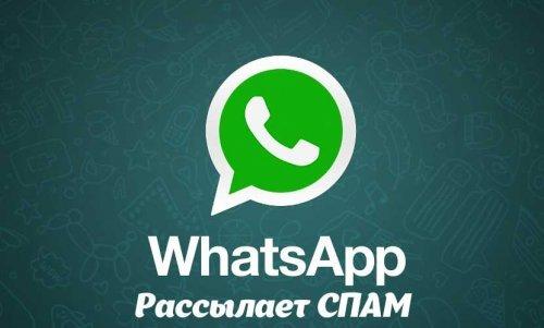 Спам Whatsapp   розсилка рекламних повідомлень в Whatsapp