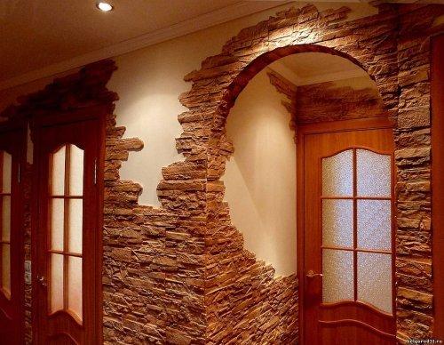 Як зробити арку у дверному прорізі