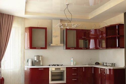 Який стеля краще зробити на кухні з газовою плитою