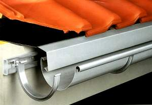 Відливи для даху: різновиди, переваги, правила монтажу