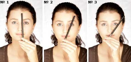 Як правильно вищипнути брови в домашніх умовах