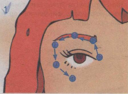 Як прибрати зморшки навколо очей