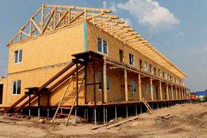 Який фундамент вибрати для каркасного будинку