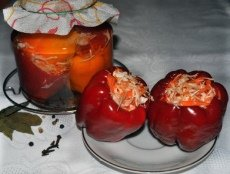 Заготовки на зиму з фаршированого перцю
