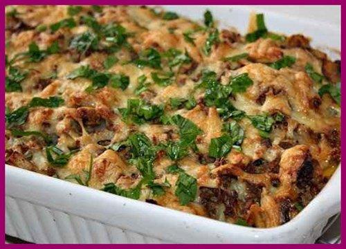 Запіканка з картоплі з фаршем – приготування картопляної запіканки з фаршем