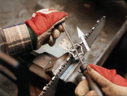 Заточення ланцюга бензопили своїми руками: вибір інструменту + майстер класи