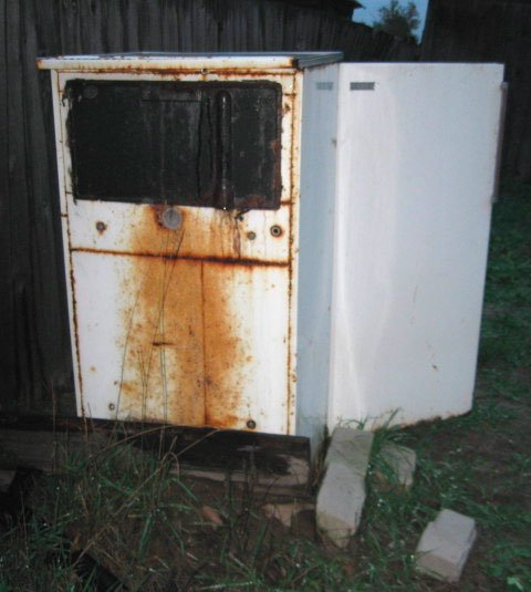 Домашня коптильня з холодильника