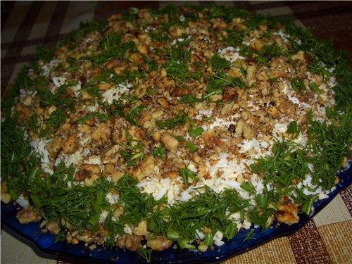 Прості і смачні рецепти салатів з копченою скумбрією