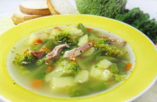 Готуємо суп з копченої курки