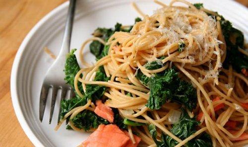 Корисні рецепти з лососем і макаронами