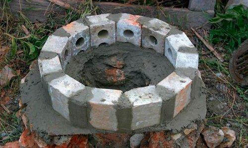 Самостійне будівництво коптильні з цегли
