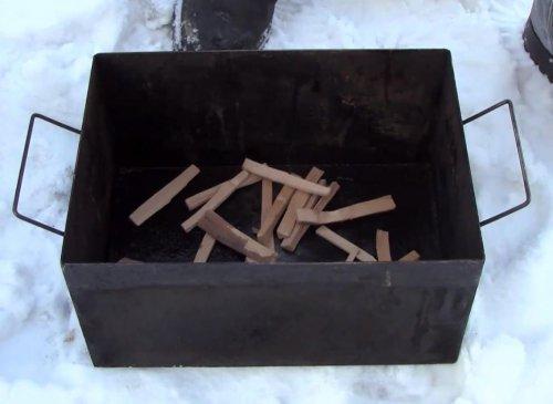 Як закоптити окуня — спосіб гарячого копчення