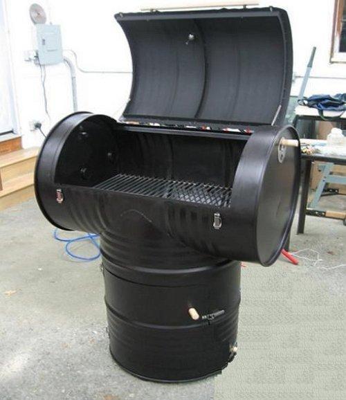 Як зробити коптильню гарячого копчення