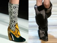 Модні зимові чоботи 2015