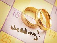 Сприятливі дні для весілля в 2017 році