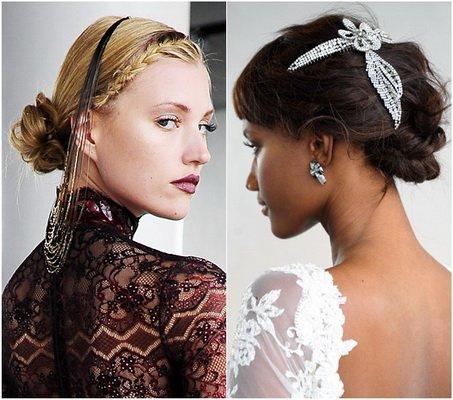 Весільні зачіски 2015