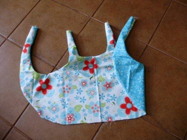Фартух сарафан для дівчинки своїми руками. Викрійка і майстер клас.