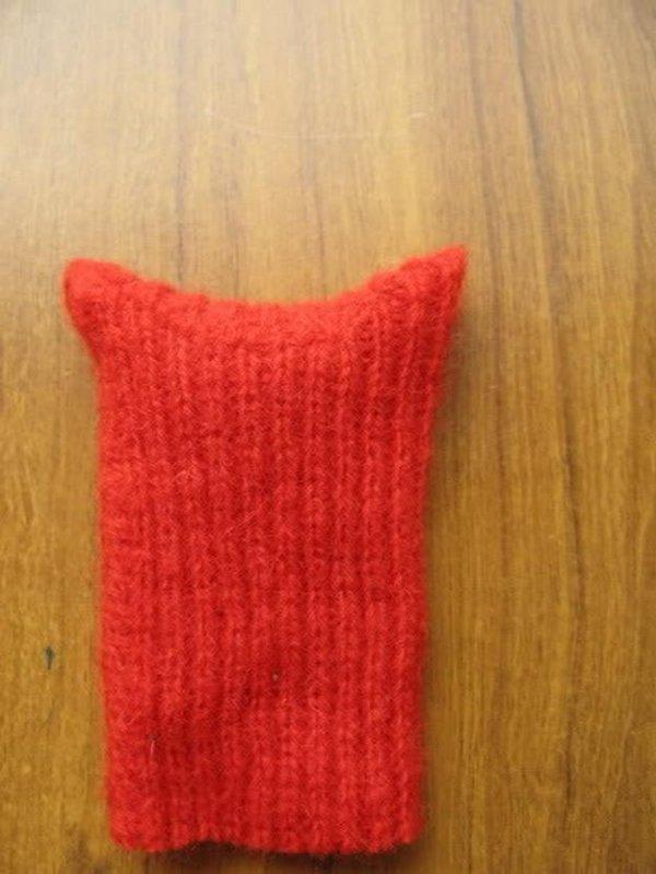 Лисиця іграшка з рукавички своїми руками.