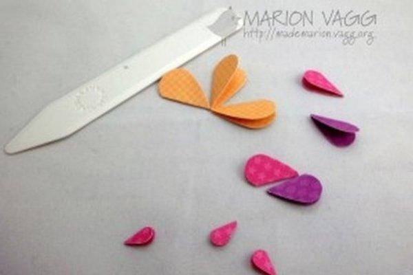 Панно з аплікацією з сердечок, цікаві ідеї з майстер класом.