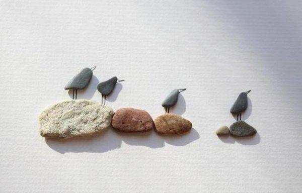Панно з каменів, ідеї для творчості.