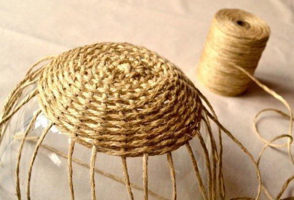 Плетение из жгутов и шпагата своими руками