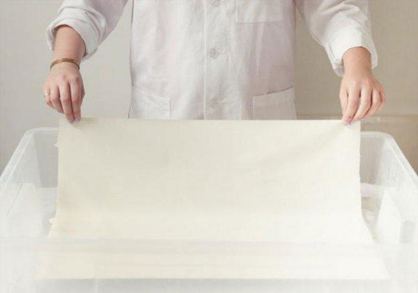 Як розфарбувати тканина в техніці ебру, майстер клас.