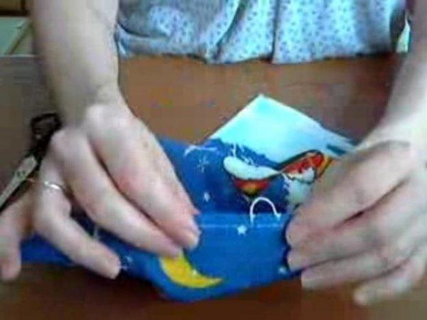 Як зробити петельку для рушника? Відео майстер клас.