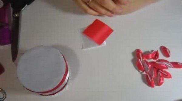 Як зробити шкатулку в техніці канзаші, відео мк.