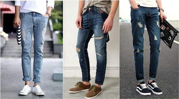 Модні чоловічі джинси 2017 року  07643da3ebfd2