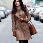 Модні жіночі пальта 2017 року