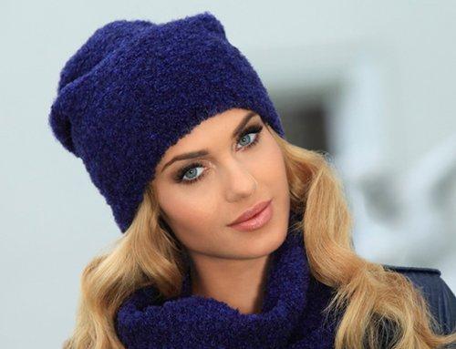 Модні вязані шапки 2017 року для жінок