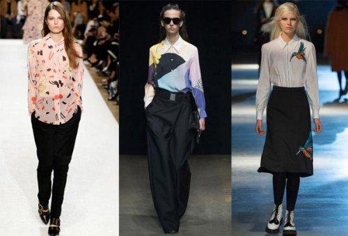 Модні жіночі блузки 2017 року