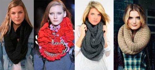 Модні жіночі і чоловічі шарфи 2017 року