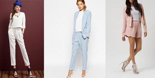 Модні жіночі костюми 2017 року