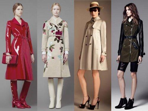 Модні жіночі плащі 2017 року