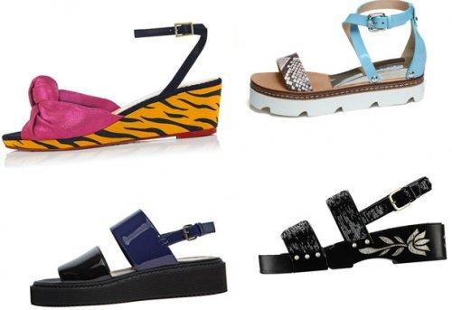 Модні жіночі сандалі на весну літо 2017 року