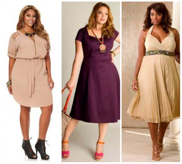 Мода для повних жінок в 2017 році  1e6c33c756a7e